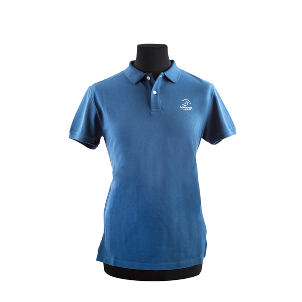 Polo-shirt - Longines Masters Originals - Man/Blue
