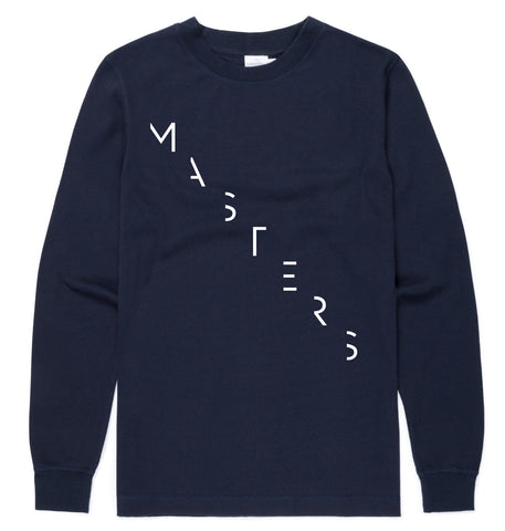 Sweatshirt - Masters - Man/Blue