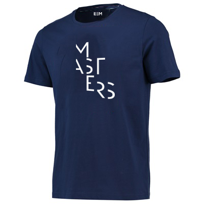T-shirt - Masters - Man/Blue