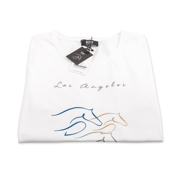 T-shirt - Los Angeles 2015 - Man/White