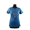 T-Shirt - We Love Horses - Woman/Blue