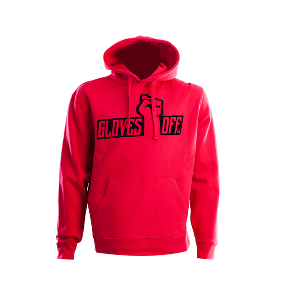 AUTHENTIC HOODIE RED & BLACK