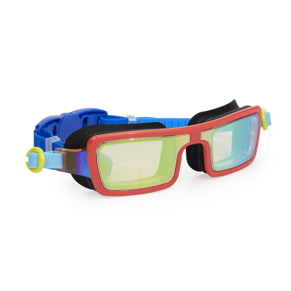 Bling2o Swim Goggles - Electric 80's - Retro Red
