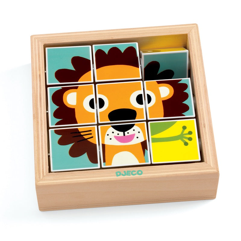Djeco Tournanimo Wooden Puzzle Game