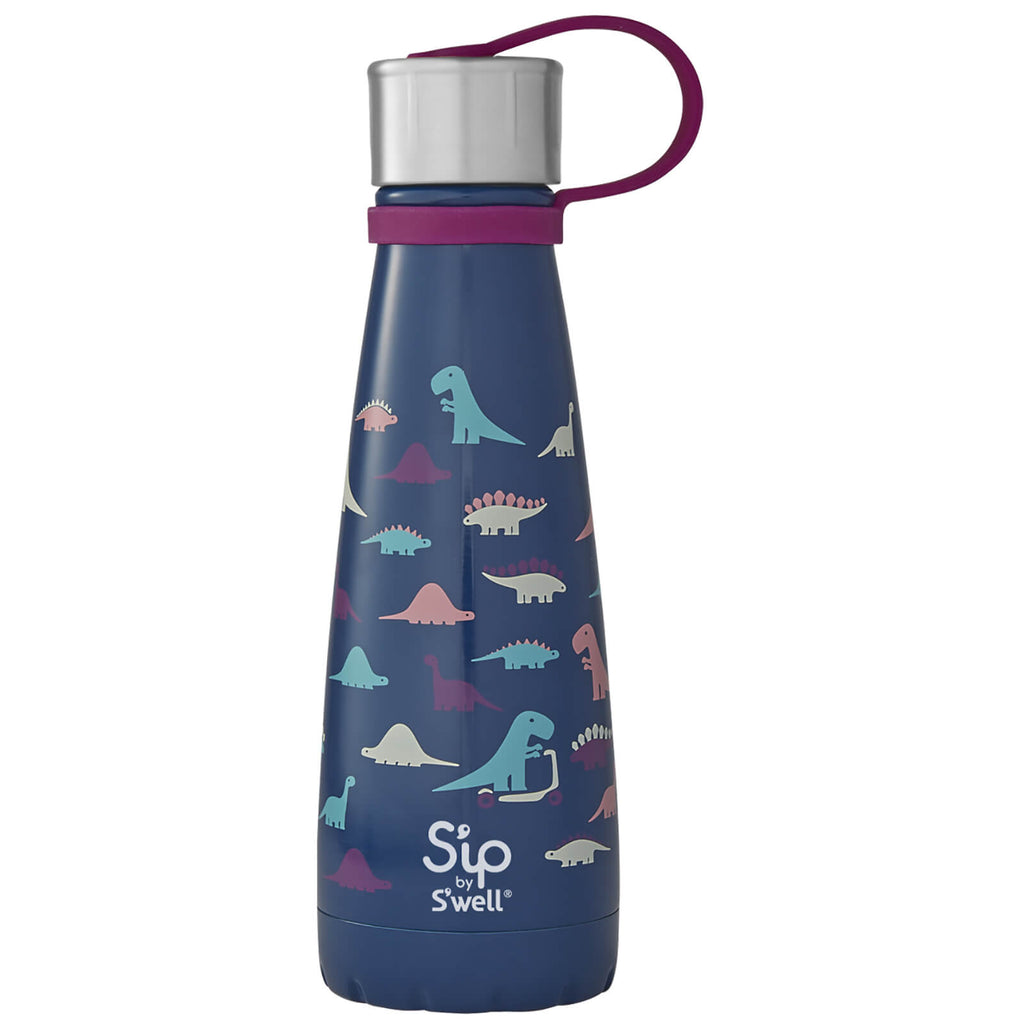 S'Well S'ip Insulated Drink Bottle 295ml - Dino Days