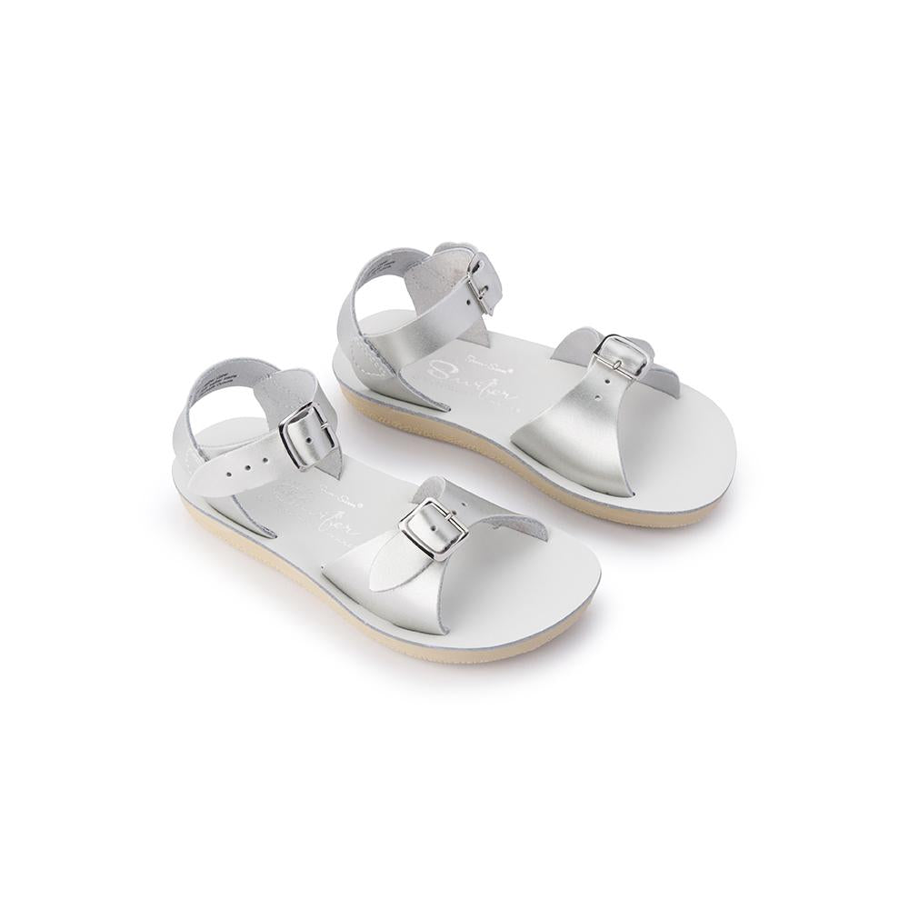 Salt Water Sandals Sun-San Surfer - Silver