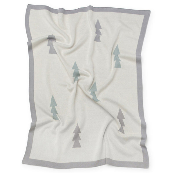 Kenzi Living Trees Baby Blanket - Natural
