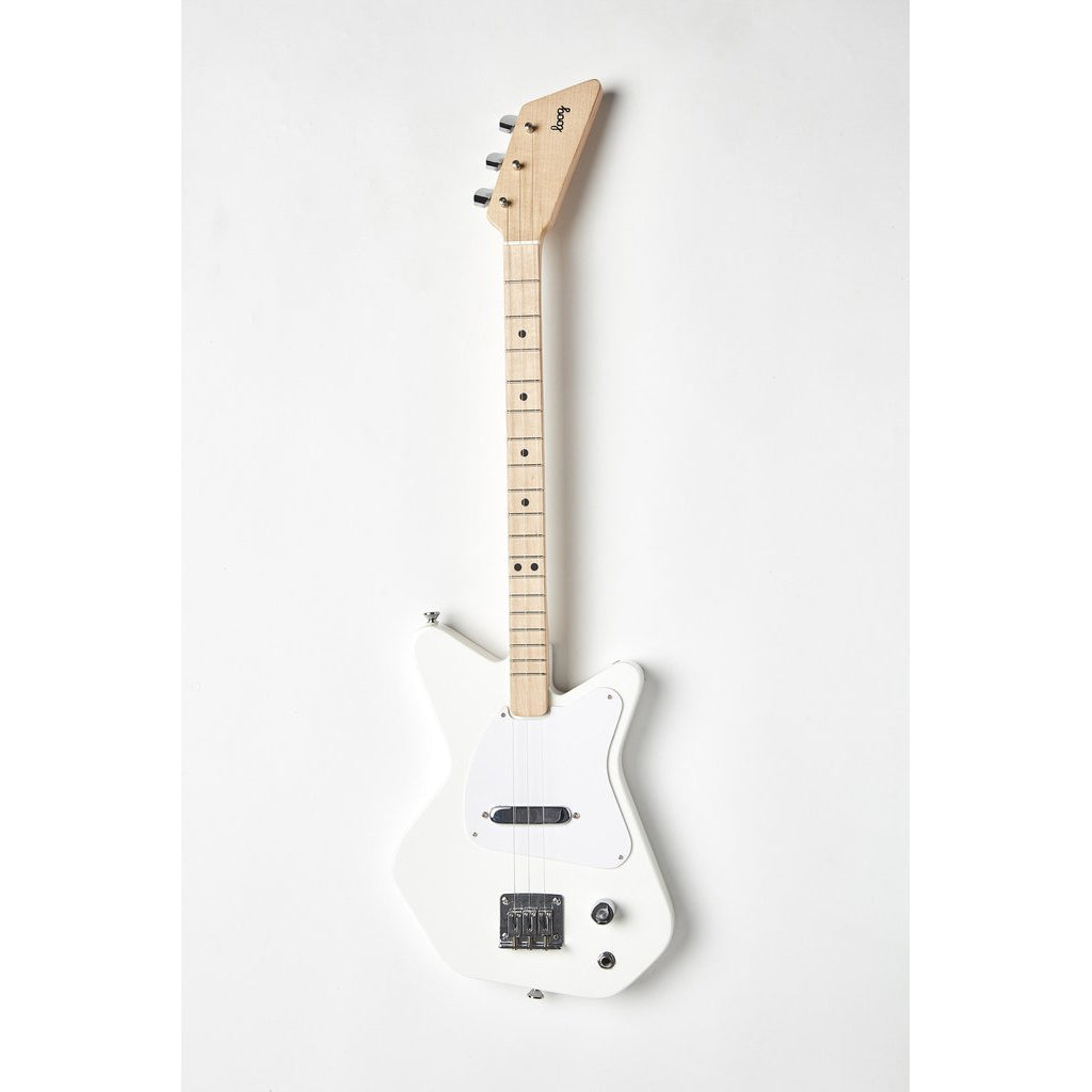 Loog Pro Electric Guitar - White