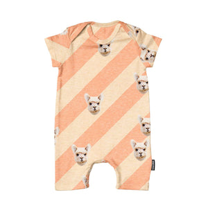 Snurk Babies Playsuit - Alpacas Furreal