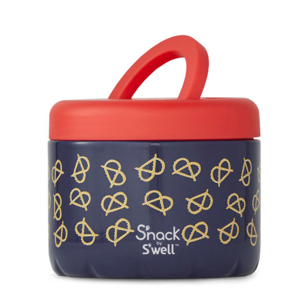 S'Well S'nack Insulated Food Container 710ml - Pretzels