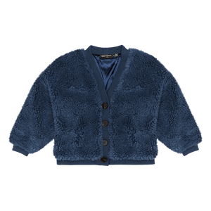 Rock Your Kid Blue Sherpa Cardigan