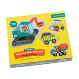 Mudpuppy Touch & Feel Puzzle - Construction