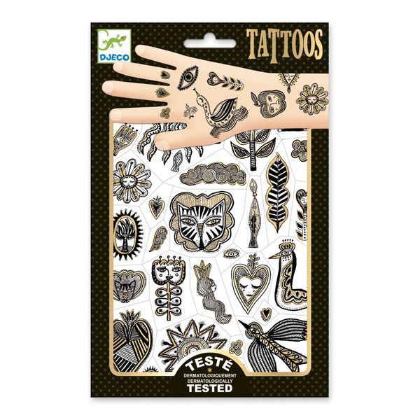 Djeco Golden Chic Tattoos
