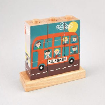 Floss & Rock Cube Puzzle - Transport