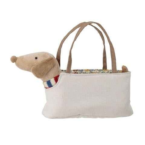 Bloomingville Soft Toy Dog in Bag