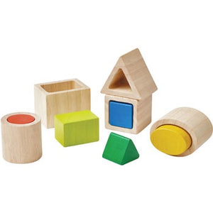 PlanToys Geo Matching Boxes