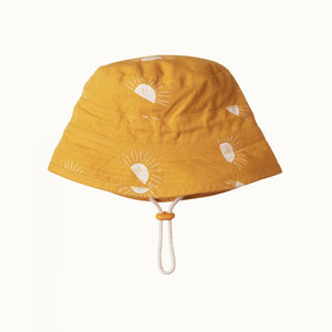 Nature Baby Bucket Sunhat - Sunrise Honey