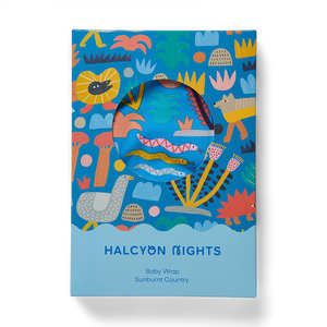 Halcyon Nights Sunburnt Country Baby Wrap