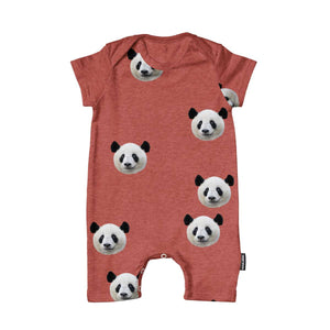 Snurk Babies Playsuit - Lazy Panda