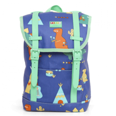 Buckle Up Backpack - Dino Rock