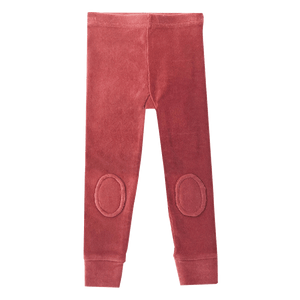 PRE-ORDER Rock Your Kid Dark Pink Corduroy Knee Patch Tights