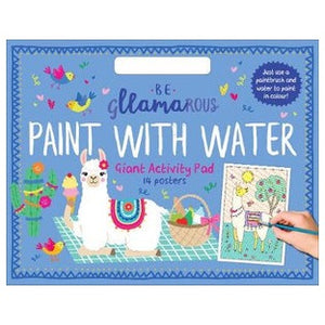 Be Gllamarous Paint with Water Giant Activity Pad