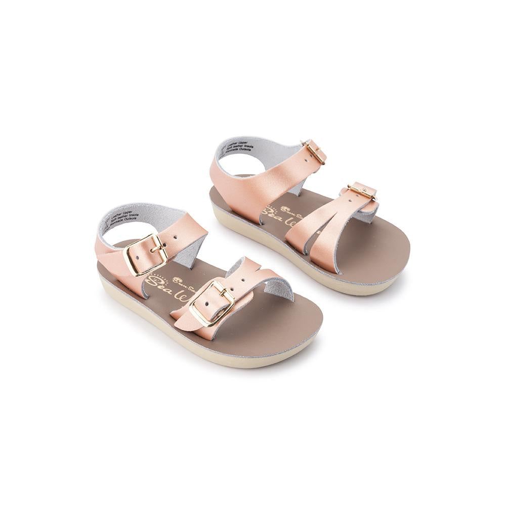 Salt Water Sandals Sun-San Sea Wee - Rose Gold