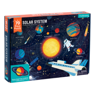 Mudpuppy Geography Puzzle - Solar System