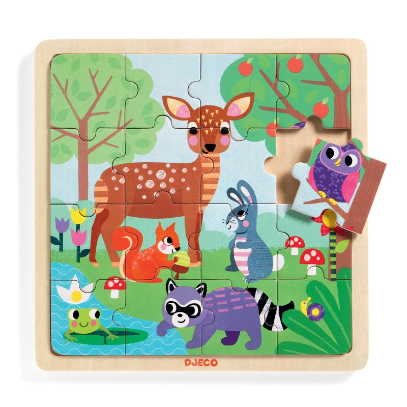 Djeco Forest Wooden Puzzle