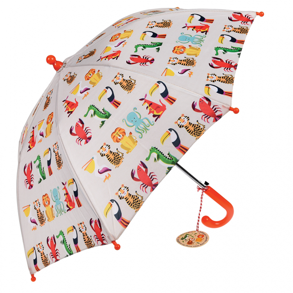 Children's Umbrella - Colourful Creatures