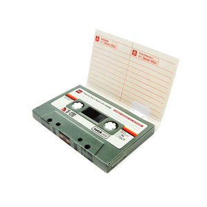 Send A Sound Recordable Greeting Card Cassette Tape