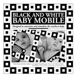 Black and White Mobile by Tina Matthews