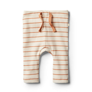 Wilson & Frenchy Organic Toasted Nut Stripe Legging