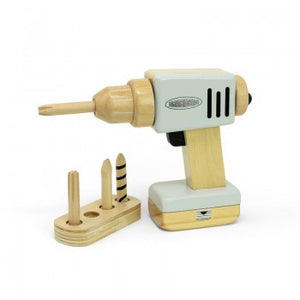 Astrup Wooden Workshop Tools - Drill with Charger