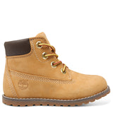 Timberland Toddler Pokey Pine 6 Inch Boot with Side Zip - Wheat