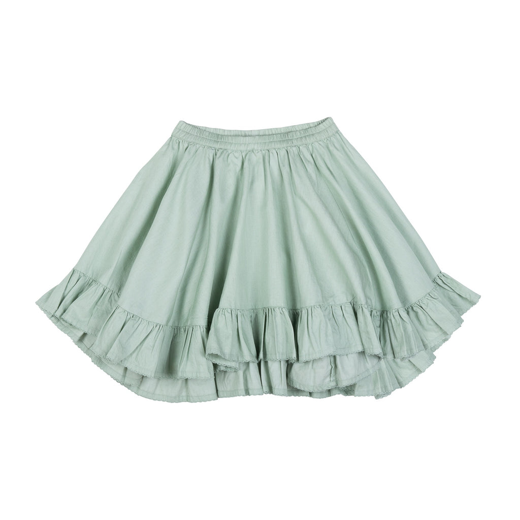 Paper Wings Frilled Drawstring Bustle Skirt