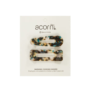 Acorn Kids Shell Clip - Green