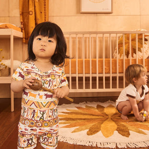Banabae Bountiful Organic Cotton Snap Through Playsuit