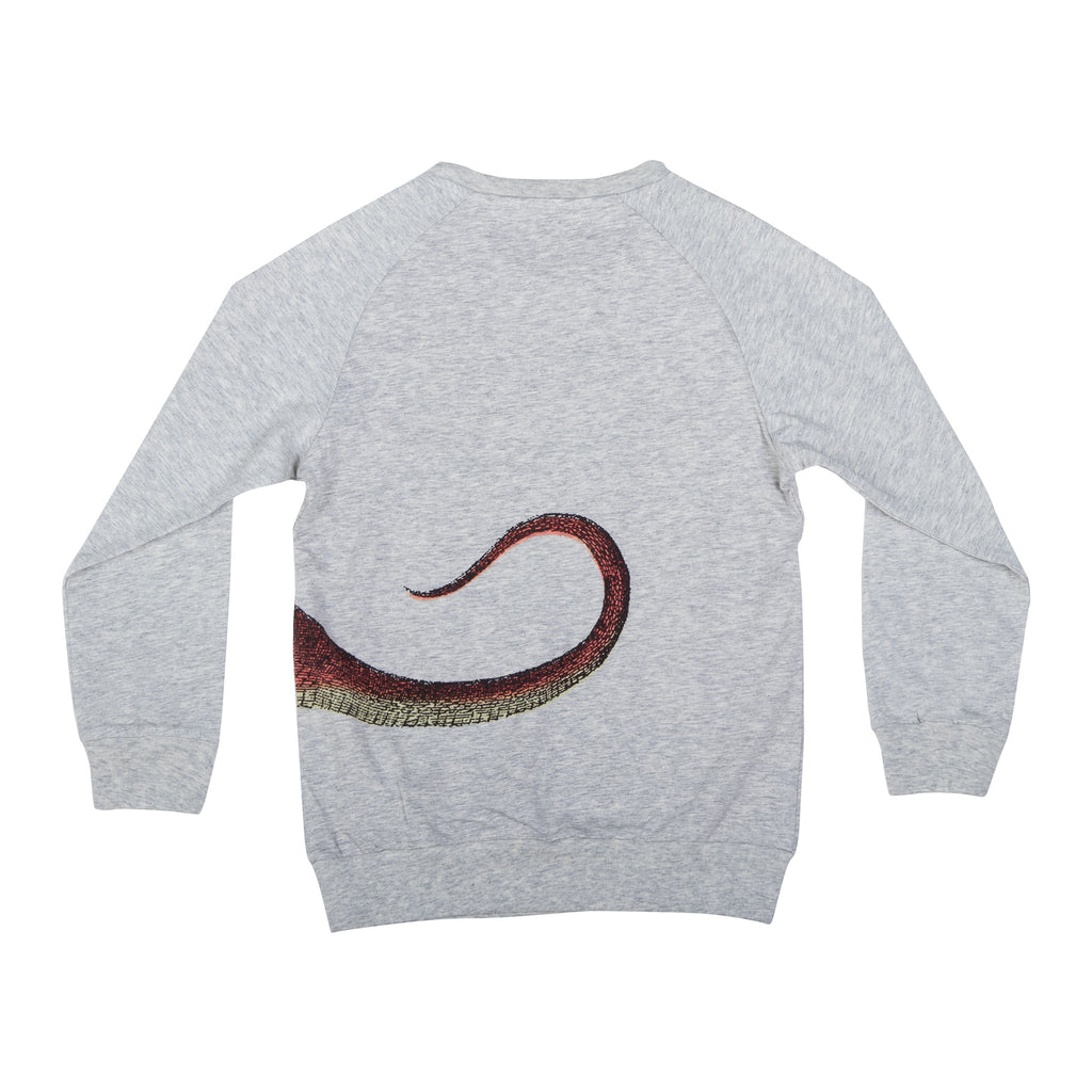 Paper Wings Light Weight Sweater - Dragon Wrap