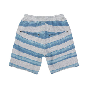 Paper Wings Cut Off Trackies - Marker Stripe