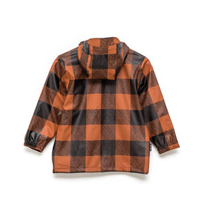 Crywolf Play Jacket - Rust Plaid