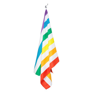Dock & Bay 100% Recycled Beach Towel - Rainbow Skies