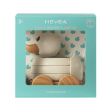 Hevea Kawan Rubberwood Stacker and Pull Toy