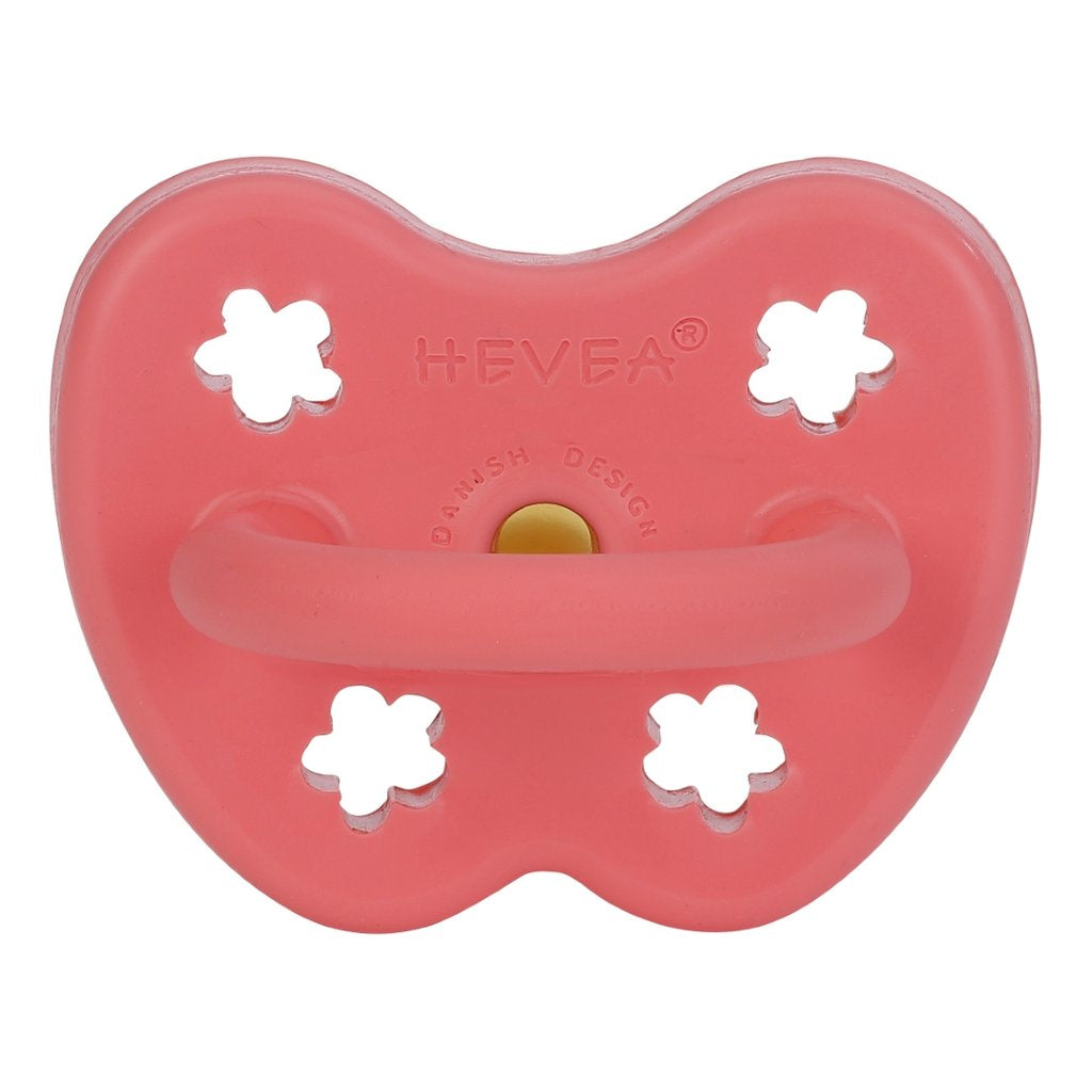Hevea Orthodontic Coloured Pacifiers - 3-36M