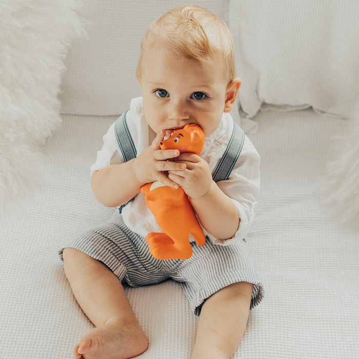 Mizzie The Kangaroo – Baby Teething Toy 100% Natural Rubber