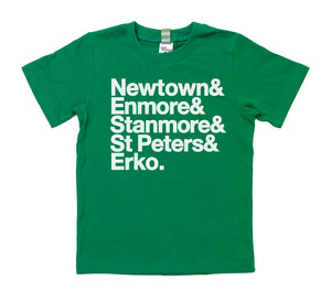 Well Spotted Newtown Area Tee