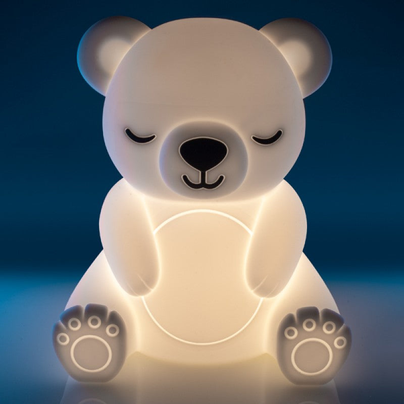 Lil Dreamers Soft Touch Rubber LED Light - Bear
