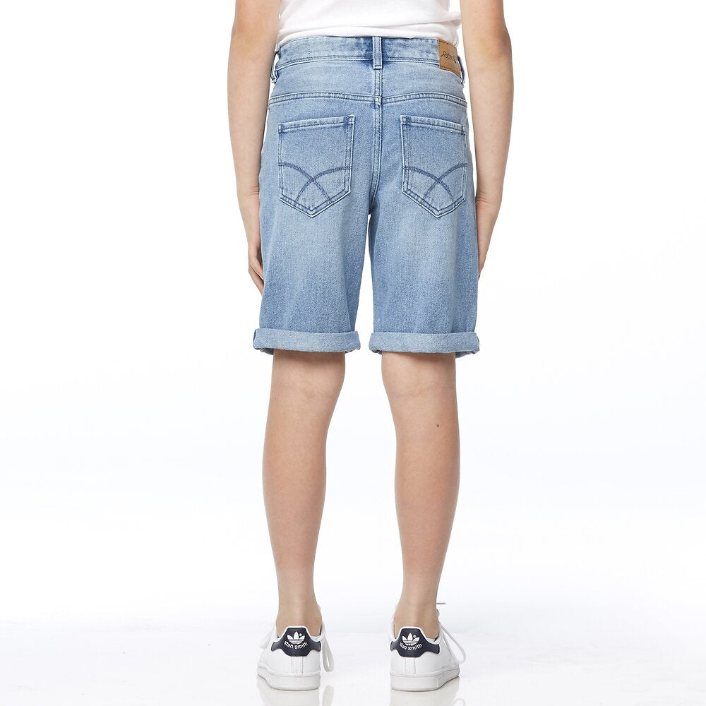 Riders by Lee Kids Kick-Back Short - Bleached Indigo