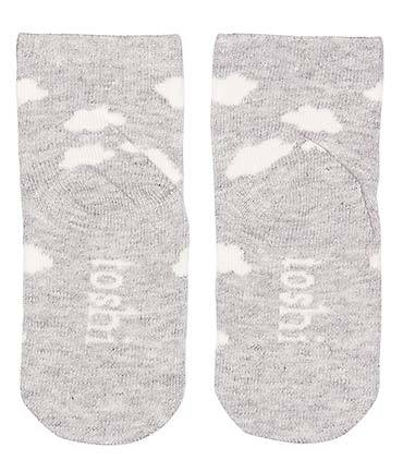 Toshi Organic Baby Socks - Cloud