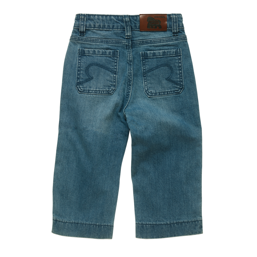 Rock Your Kid Blue Denim Wide Leg Jeans